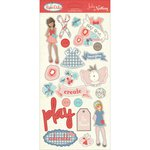 PhotoPlay Paper - Paper Dolls Collection - Chipboard Stickers