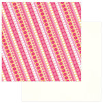 PhotoPlay Paper - Party Girl Collection - 12 x 12 Double Sided Paper - Diagonal Dot