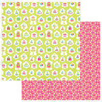 PhotoPlay Paper - Party Girl Collection - 12 x 12 Double Sided Paper - Birthday Presents
