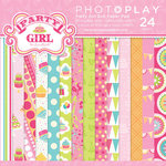 Photo Play Paper - Party Girl Collection - 6 x 6 Paper Pad