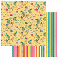 Photo Play Paper - Paprika Collection - 12 x 12 Double Sided Paper - Llama Drama