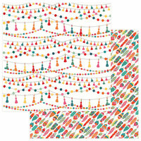 Photo Play Paper - Paprika Collection - 12 x 12 Double Sided Paper - Tassels