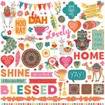 Photo Play Paper - Paprika Collection - 12 x 12 Cardstock Stickers - Elements