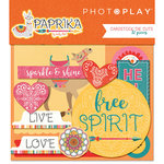 Photo Play Paper - Paprika Collection - Ephemera