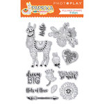 Photo Play Paper - Paprika Collection - Clear Acrylic Stamps