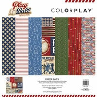 Photo Play Paper - Play Ball Collection - 12 x 12 Paper Pack