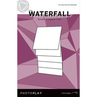 Photo Play Paper - Maker's Series Collection - Creation Bases - Manual - White Waterfall - 4 x 4