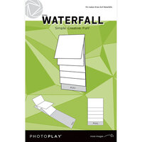 Photo Play Paper - Maker's Series Collection - Creation Bases - Mechanical - White Waterfall - 4 x 4