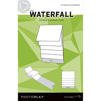 Photo Play Paper - Maker's Series Collection - Creation Bases - Mechanical - White Waterfall - 4 x 6