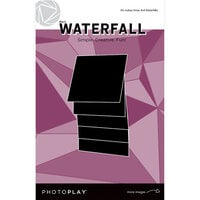 Photo Play Paper - Maker's Series Collection - Creation Bases - Manual - Black Waterfall - 4 x 4