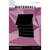 Photo Play Paper - Maker's Series Collection - Creation Bases - Manual - Black Waterfall - 4 x 6