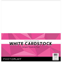 Photo Play Paper - 12 x 12 Paper Pack - White Cardstock