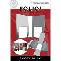Photo Play Paper - Maker's Series Collection - Folio3 - 4.5 x 8.5 - White