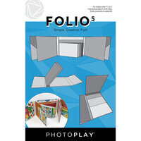 Photo Play Paper - Maker's Series Collection - Creation Bases - Folio5 - 5.5 x 7 - White