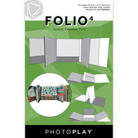 Photo Play Paper - Maker's Series Collection - Folio4 - 6.5 x 6.5 - White