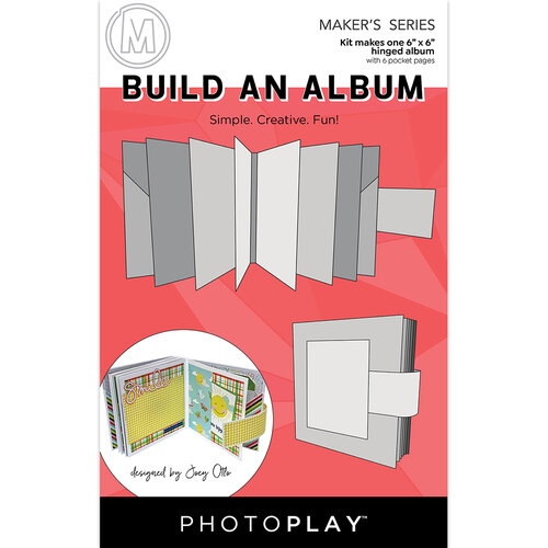 Photo Play Paper - Maker's Series - Build An Album - 6 x 6