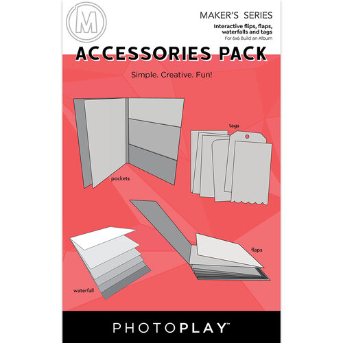 Photo Play Paper - Maker's Series - Build An Album - Accessories Pack