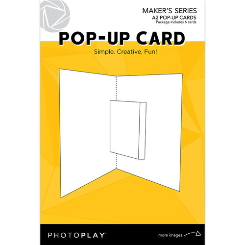 Photo Play Paper - Maker's Series - Pop-Up Cards - 4.25 x 5.5 Cards