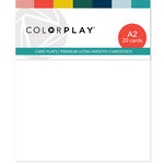 Color Play - Card Flats - A2 - 20 Pack