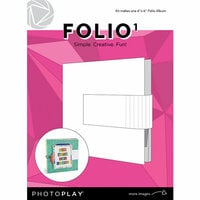 Photo Play Paper - Maker's Series Collection - Creation Bases - Folio1 - 6 x 6 - White