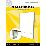 Photo Play Paper - Maker's Series Collection - Creation Bases - Matchbook - White