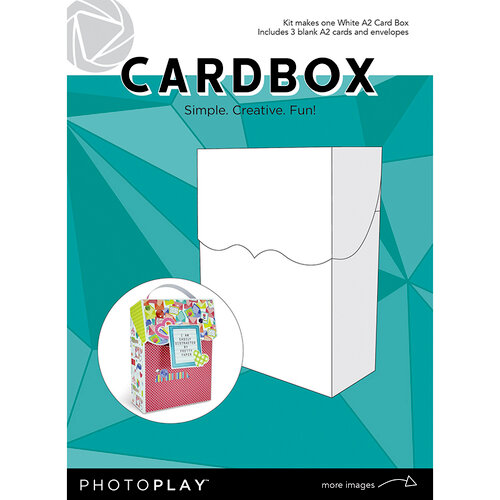 Photo Play Paper - Maker's Series Collection - Creation Bases - Cardbox - White