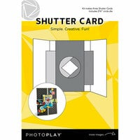 Photo Play Paper - Maker's Series Collection - Creation Bases - Craft Card - Shutter with Circle Die