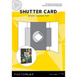 Photo Play Paper - Maker's Series Collection - Creation Bases - Card - Shutter