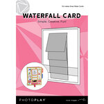 Photo Play Paper - Maker's Series Collection - Creation Bases - Card - Waterfall