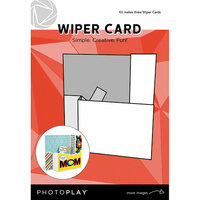 Photo Play Paper - Maker's Series Collection - Creation Bases - Card - Wiper Card