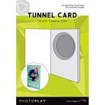 Photo Play Paper - Maker's Series Collection - Creation Bases - Card - Tunnel Cards with Circle Die