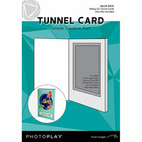 Photo Play Paper - Maker's Series Collection - Creation Bases - Card - Tunnel Cards Value Pack