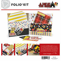 Color Play - Maker's Series Collection - Creation Bases - A Day at the Park Folio Kit