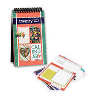 Photo Play Paper - Desktop Calendar Kit - 2020