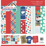 Photo Play Paper - Living the Quarantine Life Collection - 12 x 12 Collection Pack