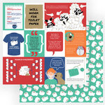 Photo Play Paper - Living the Quarantine Life Collection - 12 x 12 Double Sided Paper - Covidiot
