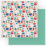Photo Play Paper - Living the Quarantine Life Collection - 12 x 12 Double Sided Paper - Stay Safe