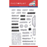 Photo Play Paper - Living the Quarantine Life Collection - Clear Photopolymer Stamps
