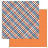 Photo Play Paper - Living the Quarantine Life Collection - 12 x 12 Double Sided Paper - Bonus Plaid