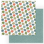Photo Play Paper - Rad Dad Collection - 12 x 12 Double Sided Paper - D Is For Dad
