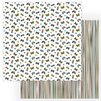 Photo Play Paper - Rad Dad Collection - 12 x 12 Double Sided Paper - Gamer
