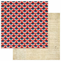 Photo Play Paper - Red, White and Blue Collection - 12 x 12 Double Sided Paper - We The People