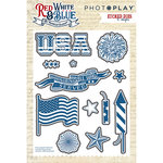Photo Play Paper - Red, White and Blue Collection - Die Set