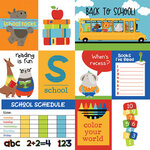 Photo Play Paper - Recess Collection - 12 x 12 Double Sided Paper - Back to School