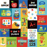 Photo Play Paper - Recess Collection - 12 x 12 Double Sided Paper - Star Student