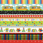 Photo Play Paper - Recess Collection - 12 x 12 Double Sided Paper - The Bus