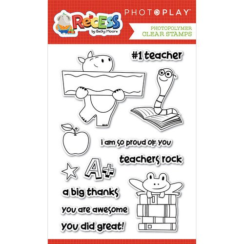 Photo Play Paper - Recess Collection - Clear Photopolymer Stamps