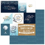 Photo Play Paper - Remembrance Collection - 12 x 12 Double Sided Paper - 3 x 4 Cards