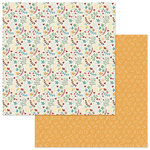 Photo Play Paper - Roxie and Friends Collection - 12 x 12 Double Sided Paper - Catnip