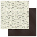 Photo Play Paper - Real Genius Collection - 12 x 12 Double Sided Paper - Math